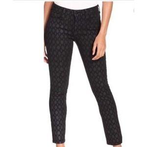 NYDJ Diamond Shimmer Print Skinny Jeans 10P